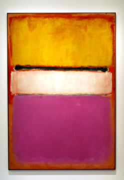 """White Center"" by Rothko"