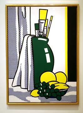 """Still Life with Green Vase,"" by Lichtenstein"