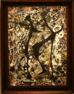 """Rhythmical Dance"" by Pollock"