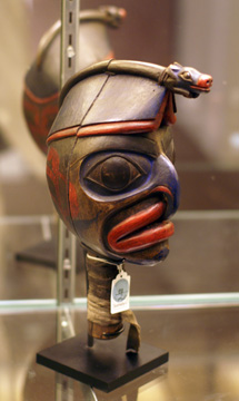Ceremonial dance rattle
