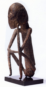 Dogon seated figure