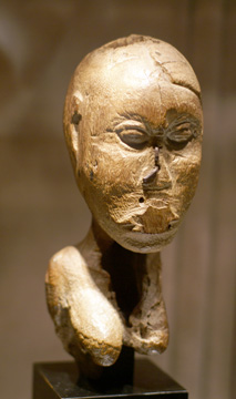 Benin bust of a female