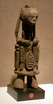 Igbo shrine figure