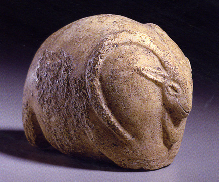 Central Asian white marble mouflon