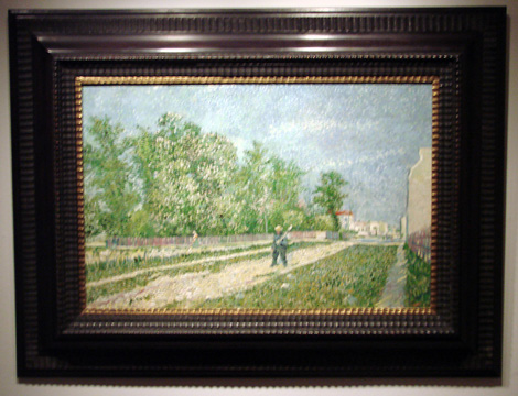 """Route aux confins de Paris..."" by van Gogh"