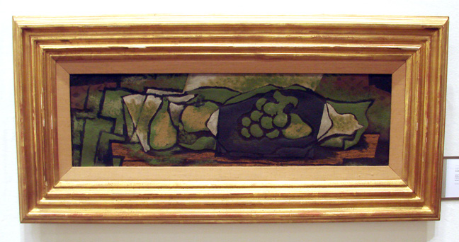 """Le plat de raisin"" by Braque"