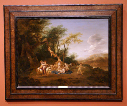 """The Childhood of Jupiter on Mount Ida"" by Pietersz. Berchem"