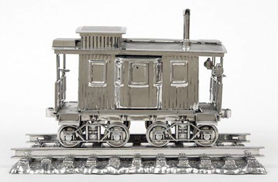 """Jim Beam-caboose"" by Koons"