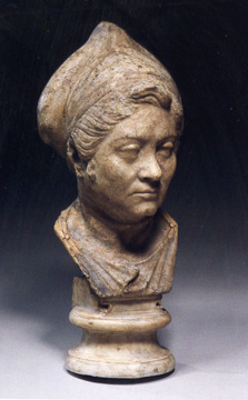 Roman bust of a woman