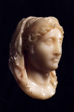 """Portrait head of a deified queen"""