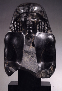 Egyptian bust of a man