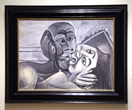 """Le Baiser"" by Picasso"