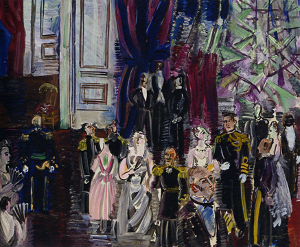 """Le Bal Chez L'Amiral"" by Dufy"