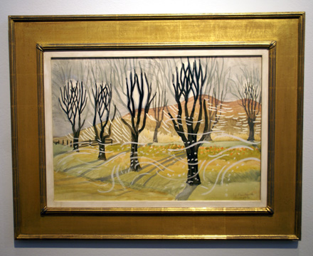 """Trees in Winter"" by Burchfield"