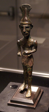 Canaanite copper warrior