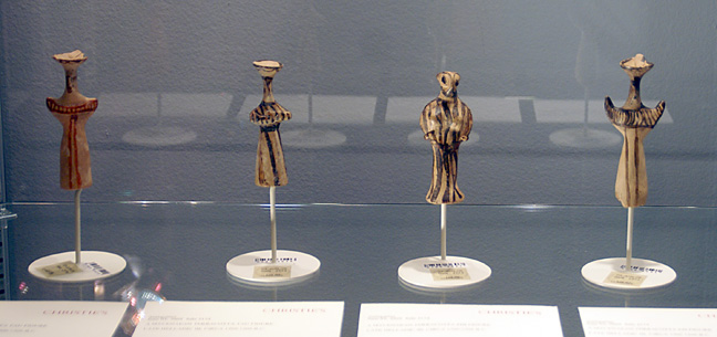 Mycenaean terracotta figures