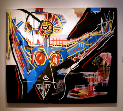 """Mater"" by Basquiat"