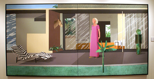 """Beverly Hills Housewife"" by Hockney"