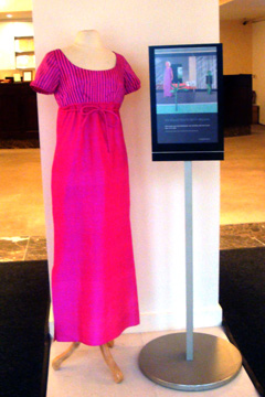 Betty Freeman pink dress