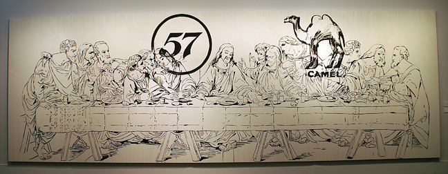 """Last supper"" by Warhol"