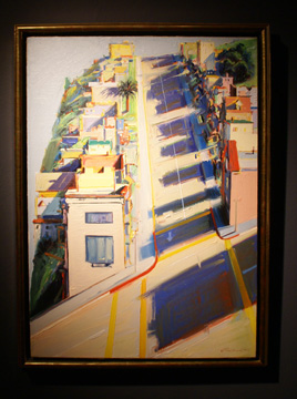 """Ripley Street Ridge"" by Thiebaud"