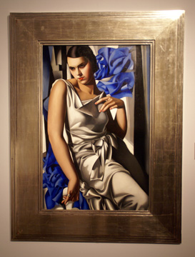 """Portrait de Madame M"" by Lempicka"