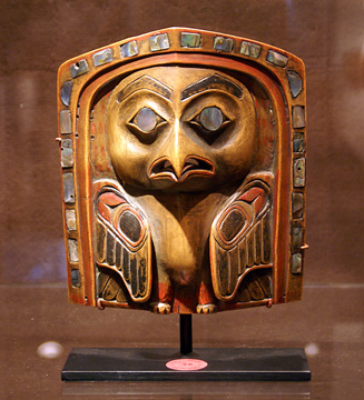 Tsimshian or Haida headdress or frontlet