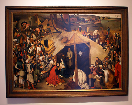 """The Adoration of the Magi"" by Pieter Brueghel the Younger"