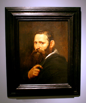 """Head of a Bearded Man"" by Rubens"