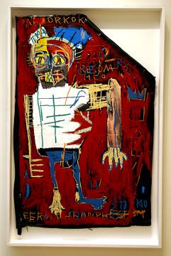 """Red Man One"" by Basquiat"