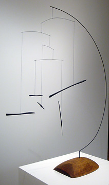 """Ebony Sticks in Semi-Circle"" by Calder"