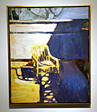 """Cane Chair Outside"" by Diebenkorn"