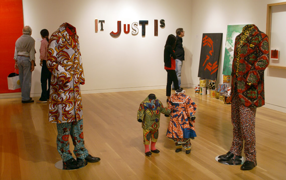"""Dad, Dad and the Kids"" by Yinka Shonibare Mbe"