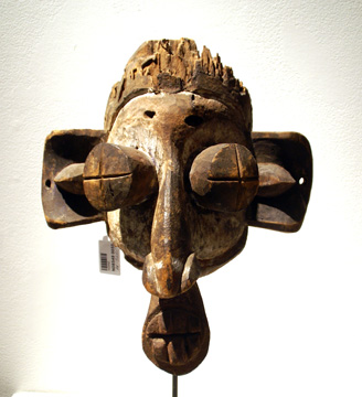 Suku Mask, Democratic Republic of the Congo