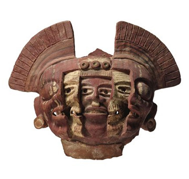 Head with cutaway masks, Veracruz