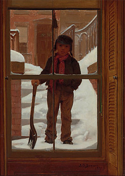 """Can I Shovel the Snow?"" by Brown"