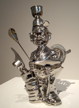 """Fisherman golfer"" by Koons"