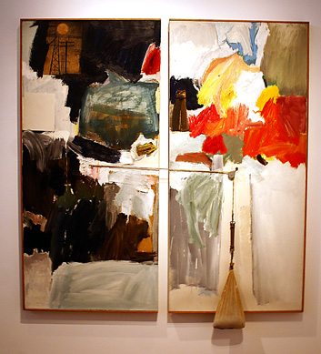 """Studio Painting"" by Rauschenberg"