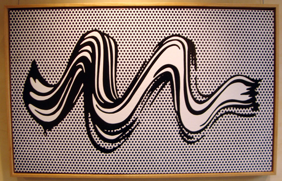 """Brushstroke"" by Lichtenstein"