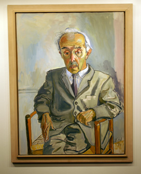 """Raphael Soyer"" by Alice Neel"
