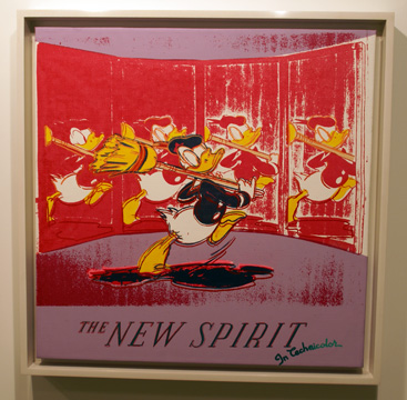 Donald Duck by Warhol