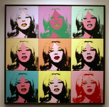 """Holly Solomon"" by Warhol"