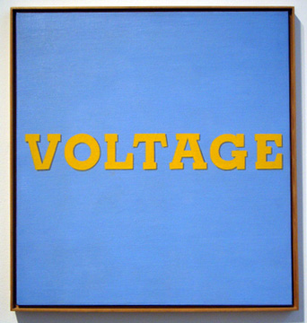 """Voltage"" by Ruscha"