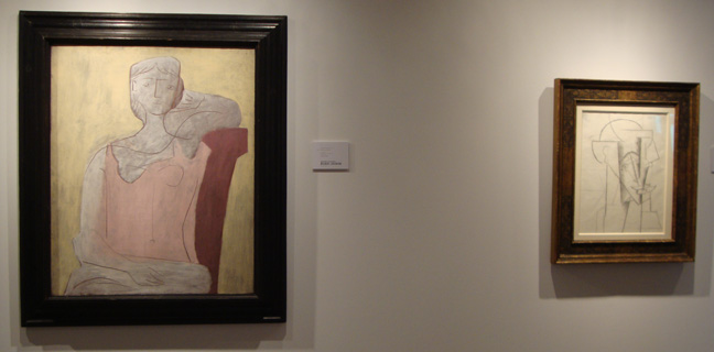 Two of Crichton's Picassos