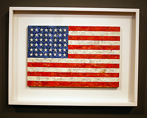 """Flag"" by Johns"