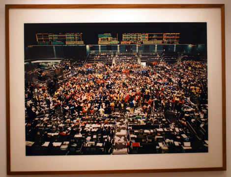 """Chicago Board of Trade"" by Gursky"