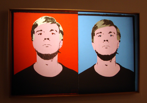 """Self Portrait"" by Warhol"