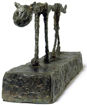 """Cat"" by Giacometti"