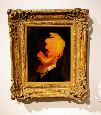 """Self-portrait"" by Vuillard"