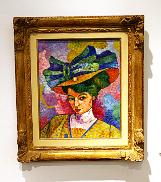 """Woman in a Hat"" by Metzinger"